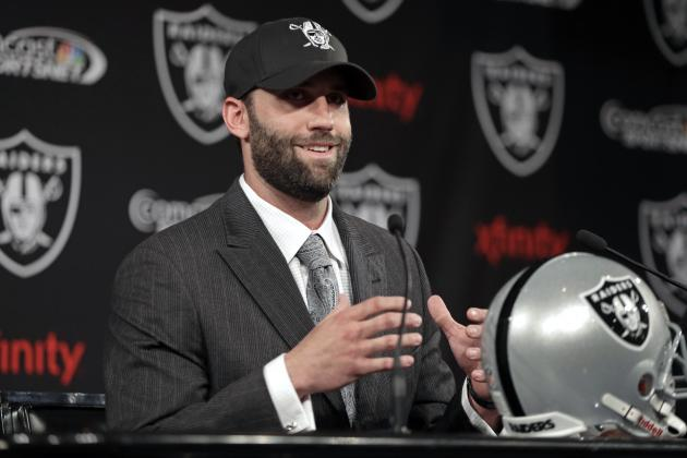Trading for Matt Schaub Shouldn't Keep Raiders from Drafting QB in First Round