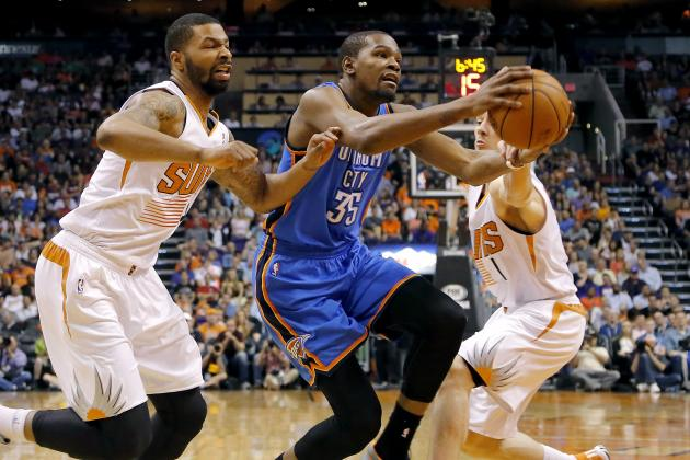 Kevin Durant Solidifies MVP Award by Eclipsing Michael Jordan's 25-Point Streak