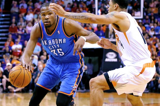 Kevin Durant's 25-Plus-Point Scoring Streak Reaches 41, Passing Michael Jordan