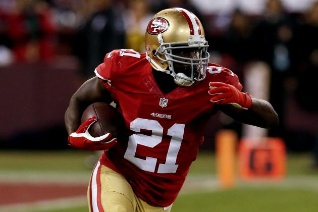 San Francisco 49ers: Projecting Frank Gore's 2014 Season