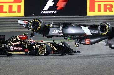 Esteban Gutierrez Tweets He's Fine After Sauber Flipped in Bahrain GP Crash