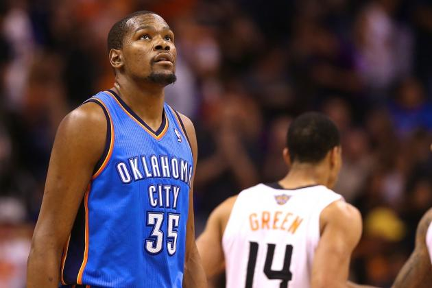 Kevin Durant on His 25-Plus-Point Streak: 'I Wish It Was Over'