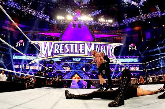 WWE WrestleMania: Undertaker vs. Brock Lesnar and the Death of the Streak