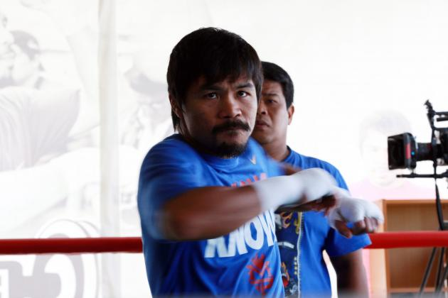 Manny Pacquiao's Rematch with Timothy Bradley Will Save Pac-Man's Career