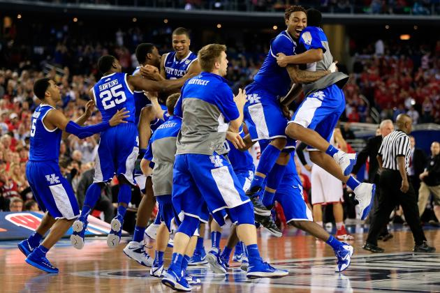 NCAA Championship Game 2014: Viewing Info and Game Time for UConn vs. Kentucky