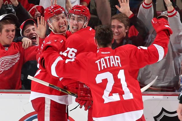 Bob Wojnowski: Young Red Wings Thrive on Playoff Push