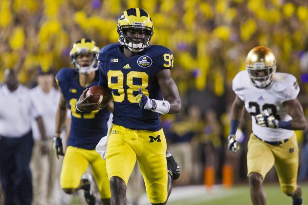 Michigan vs. Penn State in 2014 Will Be in Primetime, Under the Big House Lights