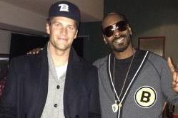 Wait . . . Snoop Dog's a Bruins Fan?
