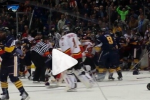 Watch: Huge Brawl Erupts in NYPD-NYFD Charity Game