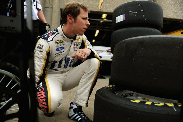 Brad Keselowski in Wrong Place at Wrong Time at Texas