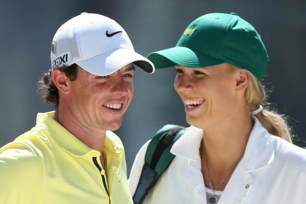 Rory McIlroy's GF Caroline Wozniacki Returns to Caddie Masters' Par-3