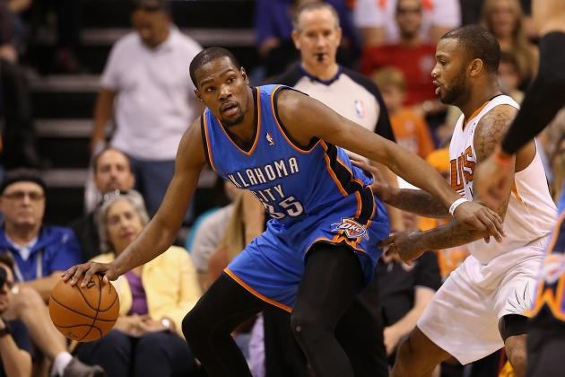 Kevin Durant Seeking 2nd-Longest Streak of 25-Point Games After Passing Jordan