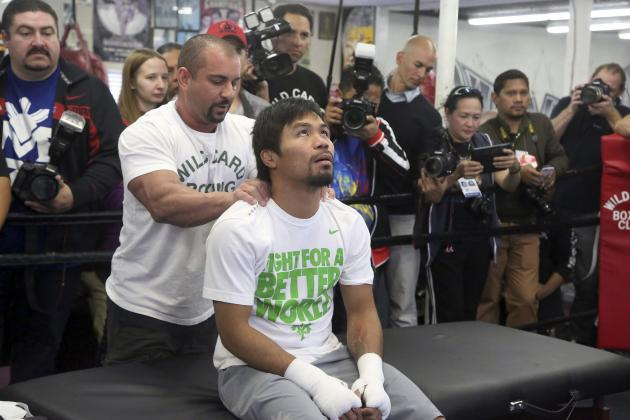Manny Pacquiao Must Beat Timothy Bradley to Remain Among Boxing's Best