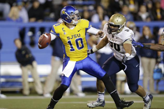 David Fales NFL Draft 2014: Highlights, Scouting Report for Chicago Bears QB