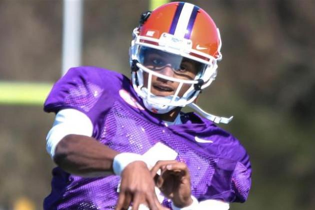 Clemson Football: Week 4 Spring Practice Stock Report