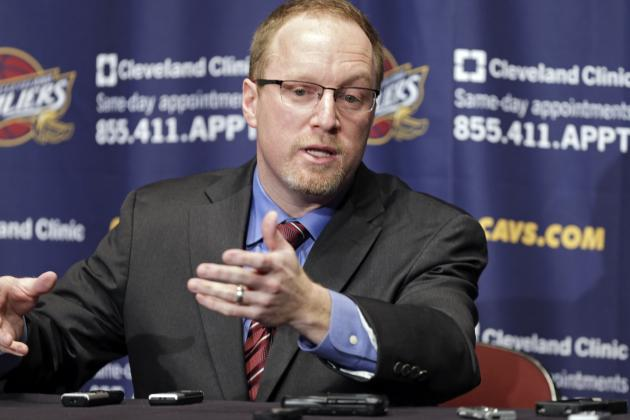Report: Phil Jackson May Target Cavs Interim GM David Griffin for NY Knicks Gig