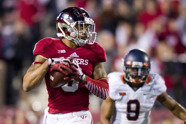 Is Indiana WR Cody Latimer a Legitimate 1st-Round Prospect in the NFL Draft?