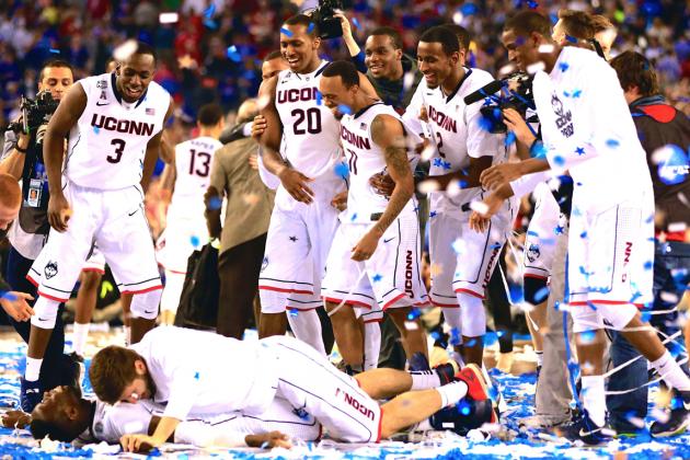 NCAA National Championship 2014: Live Score, Highlights for Kentucky vs UConn