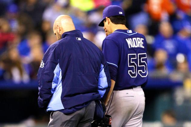 Matt Moore Injury: Updates on Rays Pitcher's Elbow and Return