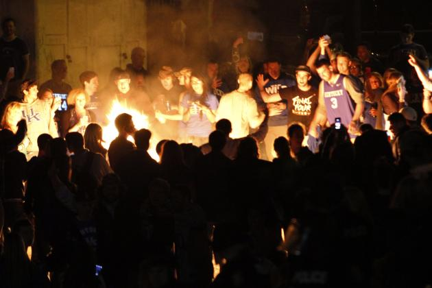 Lexington Has Multiple Couch Fires, Arrests Following Kentucky's Loss to UConn