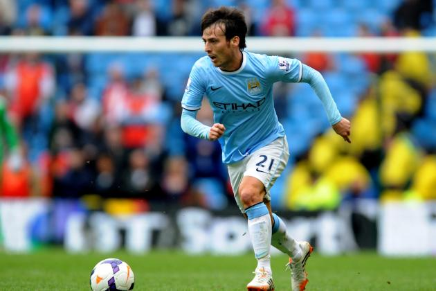David Silva Injury: Updates on Manchester City Star's Ankle and Return