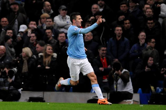 Stevan Jovetic Taunts Liverpool, Says Manchester City Hold Title-Race Advantage