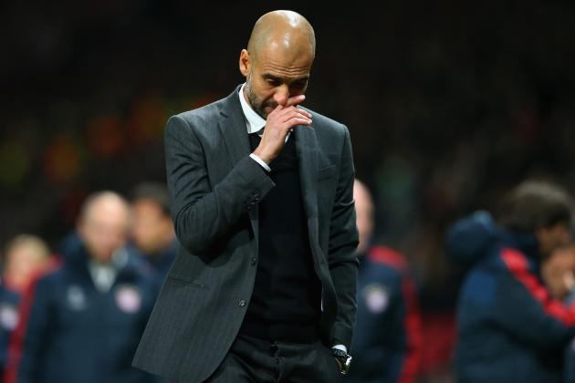 Pep Guardiola Says Bayern Have 14 Fit Players for Manchester United Showdown