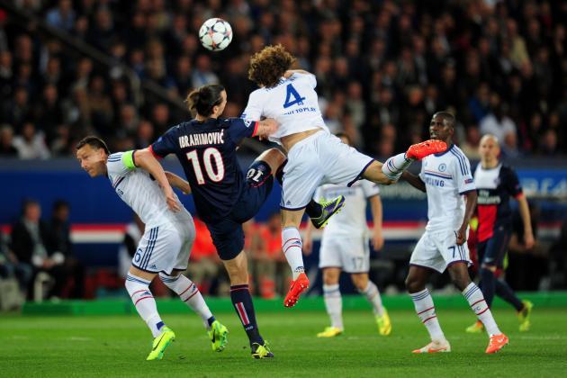 Chelsea vs. Paris Saint-Germain: Live Player Ratings for Blues and Les Parisiens