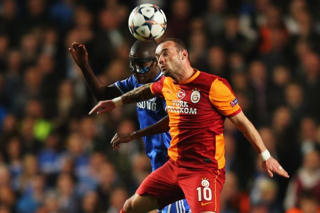 Chelsea Transfer News: Wesley Sneijder Not Worth Galatasaray's £12.5M Fee