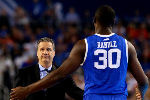 Kentucky's Randle Noticeably Out of Character in Title-Game Loss