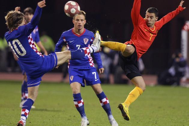 Luka Modric and Ivan Rakitic: Croatia's Terrifying Midfield Axis
