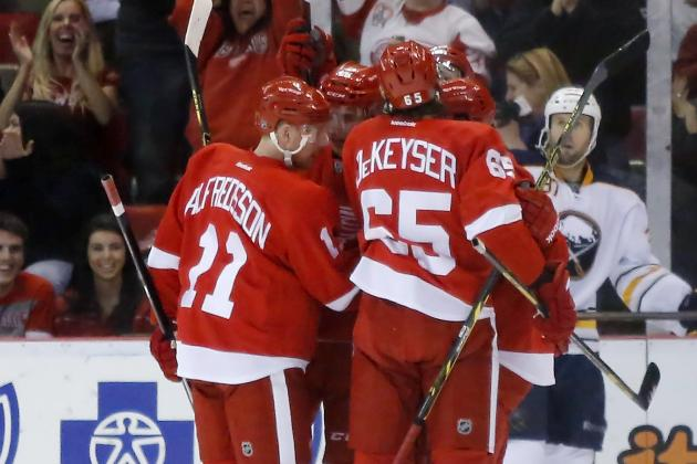 Wings Look to Finish Regular Season with Strong Push