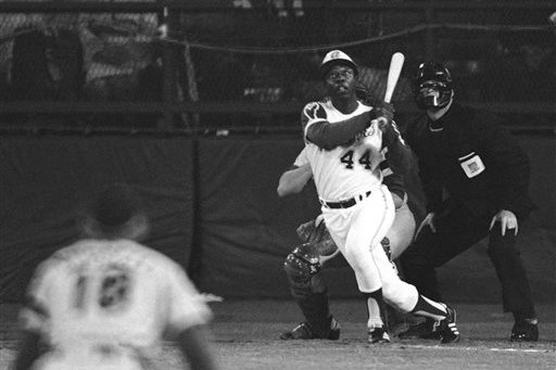 Hank Aaron Hit Home Run No. 715 on This Date 40 Years Ago