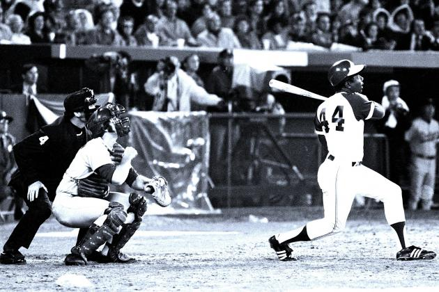 Remembering the Day Hank Aaron Broke Babe Ruth's Home Run Record