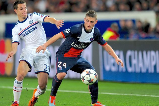 Chelsea vs. Paris Saint-Germain: Champions League Live Score, Highlights, Report