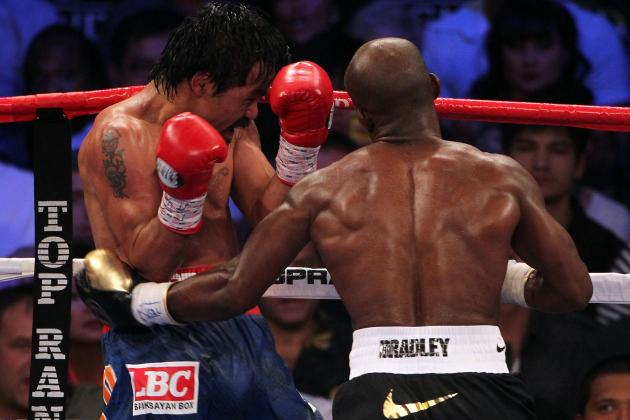Pacquiao vs. Bradley 2: Desert Storm Needs Victory to Vault into Boxing's Elite