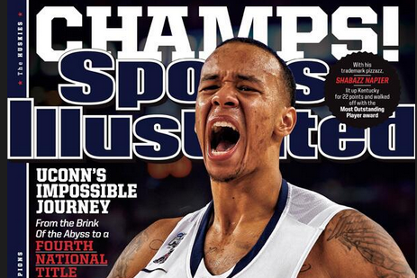 Photo: Shabazz Napier Lands This Week's Sports Illustrated Cover