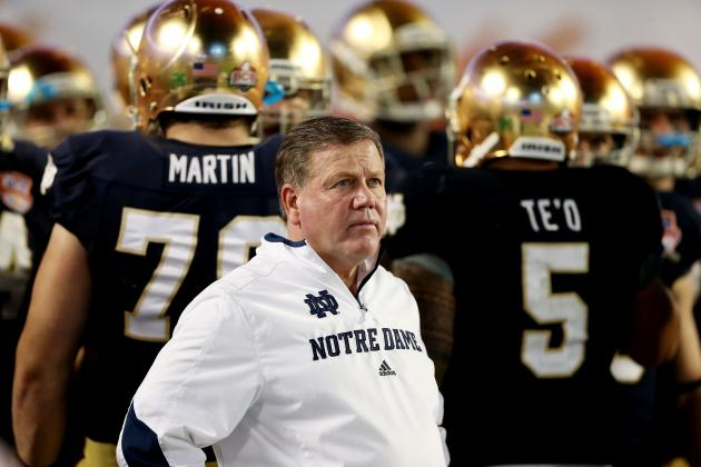 Notre Dame, Georgia Reportedly Working to Schedule Home-and-Home Football Series