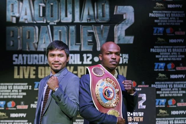 Pacquiao vs. Bradley 2 Live Stream: Full Info and Preview for Anticipated Bout