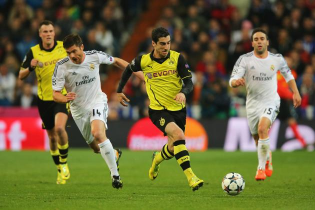 Borussia Dortmund vs. Real Madrid: Live Player Ratings