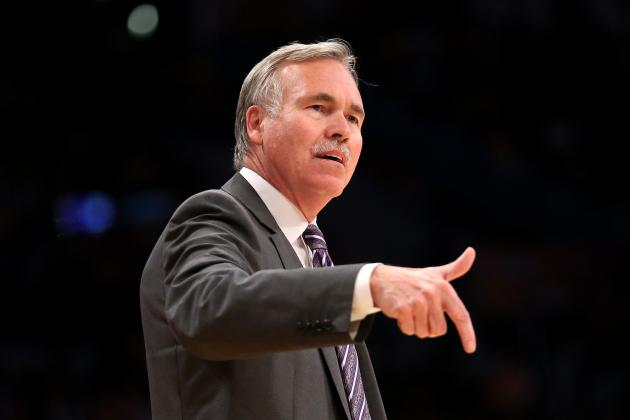 Report: LA Lakers Lean Towards Firing Mike D'Antoni at Season's End