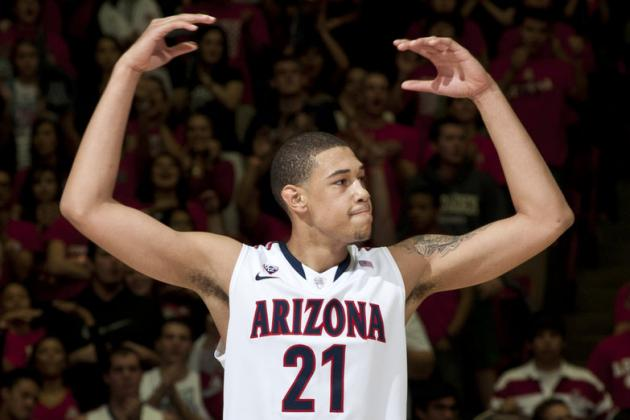 Arizona Basketball: Brandon Ashley Tweets His Intention to Return for 2014-15