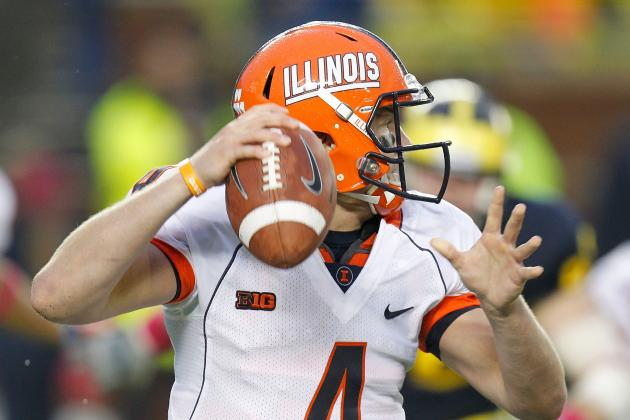CHAMPAIGN, Ill.: Coach: Illini Defense Will Be Better, but No QB