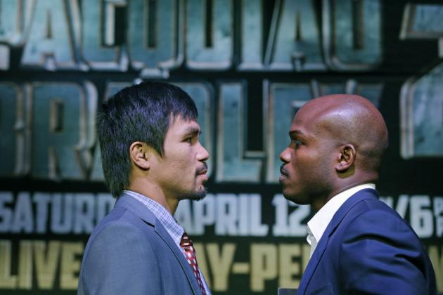 Manny Pacquiao vs. Timothy Bradley: Fight Time, Date, TV Info and More
