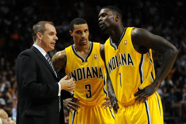 Indiana Pacers Starters Don't Have to Practice, but Bench Does