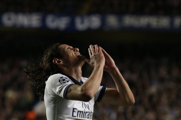 PSG Crash out to Chelsea as Cavani Fails to Step Up in Ibrahimovic's Absence