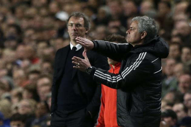 Chelsea v PSG: Post-Match Reaction from Jose Mourinho and Laurent Blanc