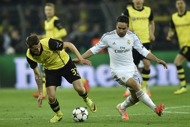 Real Madrid Get Lucky as Borussia Dortmund Provide Almighty Scare