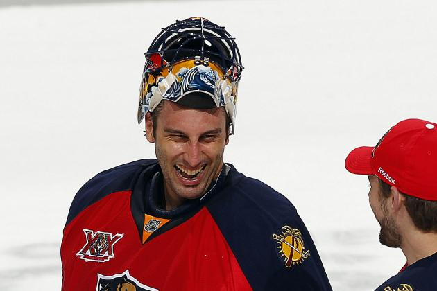 Luongo (Upper Body) Unable to Play on Tuesday