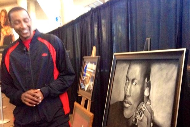 Utah Jazz Youngster Unveils Original Art Collection Before Game